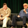 The original dynamic duo - Adam West and Burt Ward at Emerald City Comicon 2013