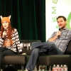 So much fun to watch Felicia Day and Wil Wheaton on stage together